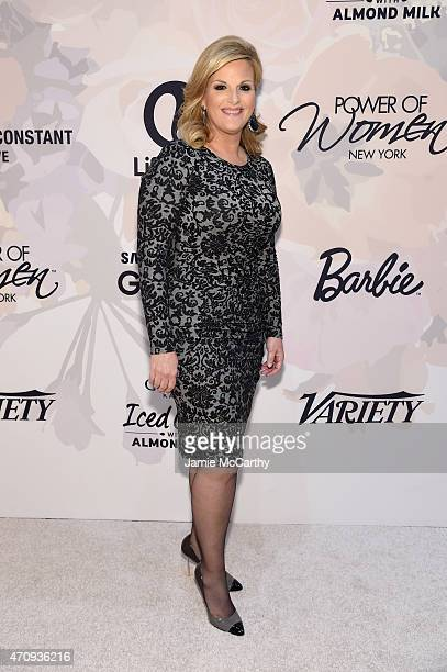 Singer Trisha Yearwood attends Variety's Power of Women New York presented by Lifetime at Cipriani 42nd Street on April 24 2015 in New York City