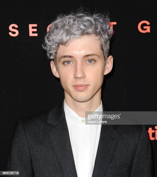 Singer Troye Sivan attends Spotify's inaugural Secret Genius Awards at Vibiana Cathedral on November 1 2017 in Los Angeles California
