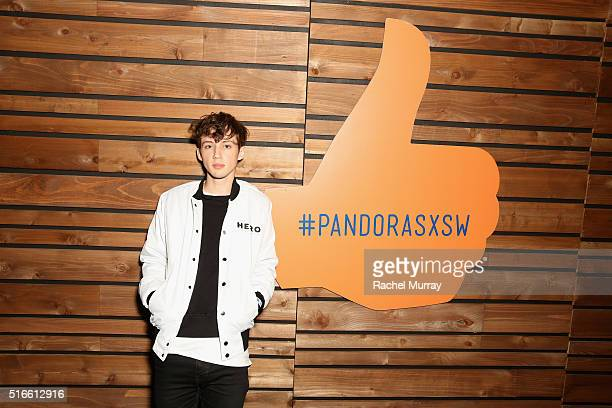 Singer Troye Sivan attends the PANDORA Discovery Den SXSW on March 19 2016 in Austin Texas
