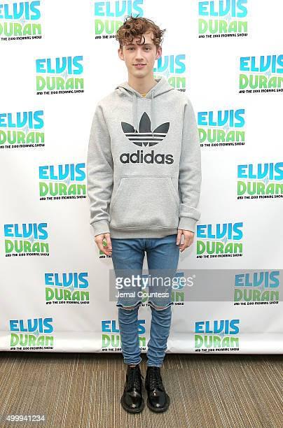 Singer Troye Sivan visits the Elvis Duran Z100 Morning Show at Z100 Studios on December 4 2015 in New York City