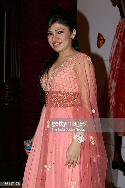Singer Tulsi Kumar at the music launch of the film Aashiqui 2 in Mumbai on 8th April 2013