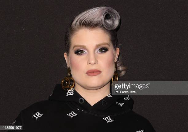 Singer / TV Personality Kelly Osbourne attends the Wheels California's bikeshare app at The Sunset Tower on March 14 2019 in West Hollywood California