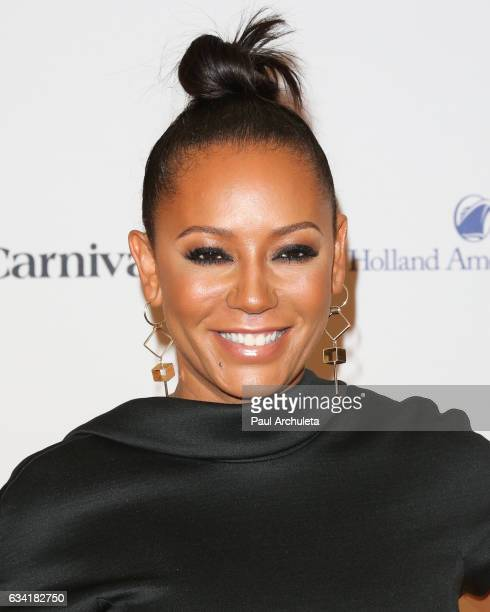 Singer / TV Personality Melanie Brown attends the red carpet event for NBC's 'Celebrity Apprentice' at Westin Bonaventure Hotel on March 2 2016 in...