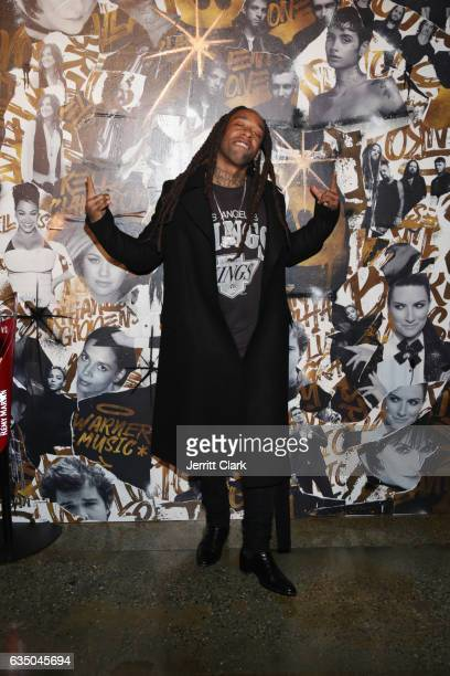 Singer Ty Dolla Sign attends Remy Martin Presents The Warner Music Block Party at Milk Studios on February 12 2017 in Hollywood California