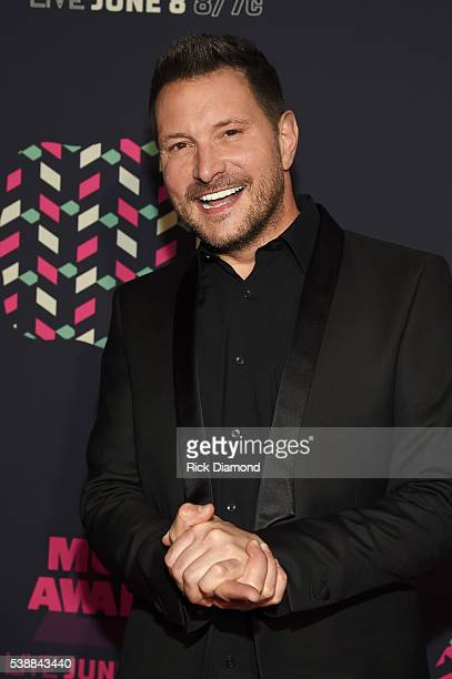 Singer Ty Herndon attends the 2016 CMT Music awards at the Bridgestone Arena on June 8 2016 in Nashville Tennessee