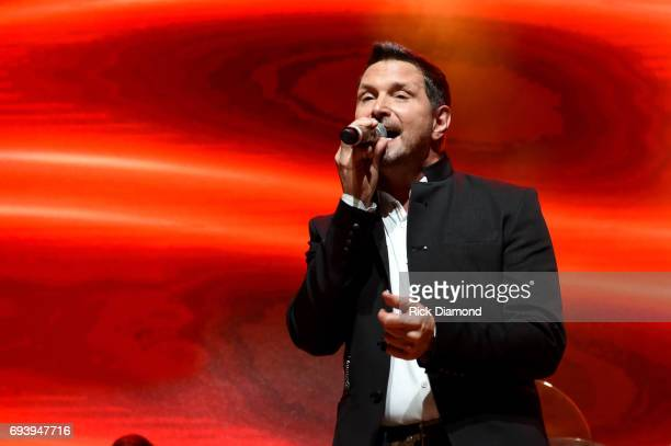 Singer Ty Herndon performs onstage during the 2017 Concert for Love Acceptance on June 8 2017 in Nashville Tennessee