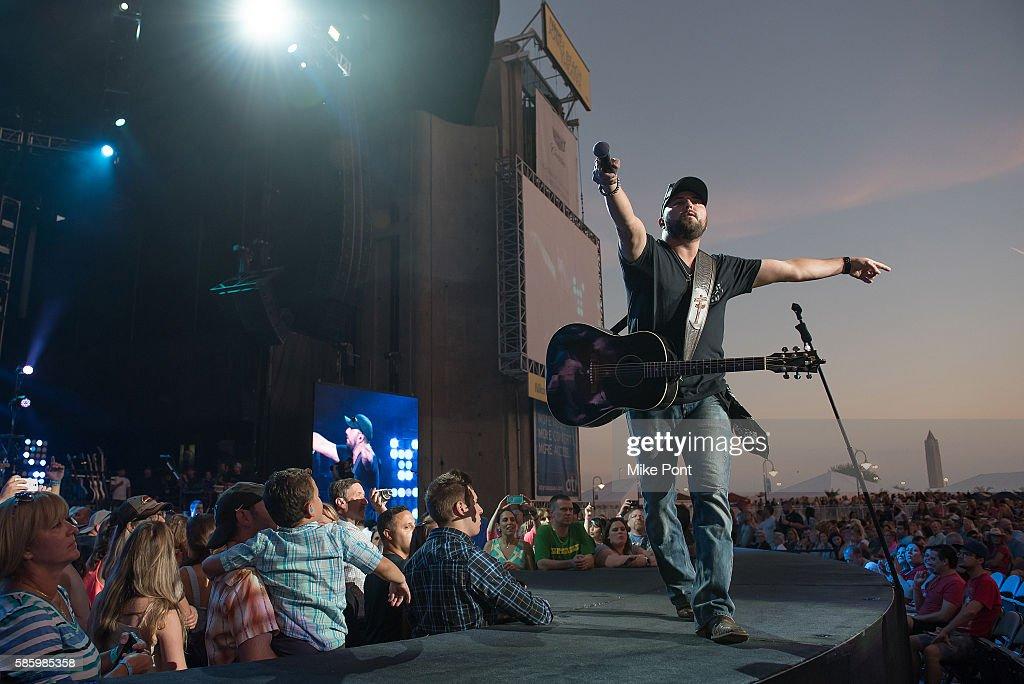 Singer Tyler Farr Performs In Concert At Nikon Jones Beach Theater On August 4