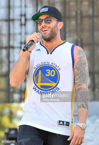 Singer Tyler Rich performs on Day 3 of County Summer Music Festival at Sonoma County Fairgrounds on June 17 2018 in Santa Rosa California