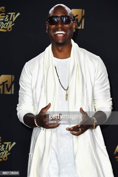 Singer Tyrese Gibson attends the 2017 MTV Movie and TV Awards at The Shrine Auditorium on May 7 2017 in Los Angeles California