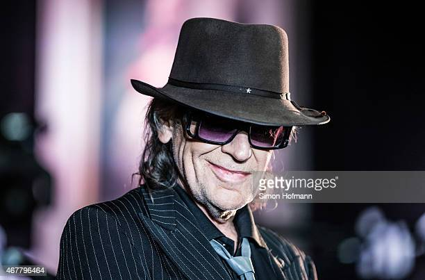 Singer Udo Lindenberg performs live on stage at Kaisersaal on March 27 2015 in Frankfurt am Main Germany