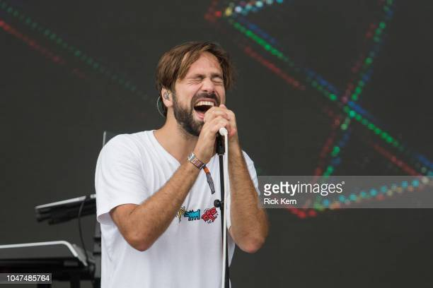 Singer Ulrik Denizou Lund of Lemaitre performs onstage during weekend one day three of Austin City Limits Music Festival at Zilker Park on October 7...