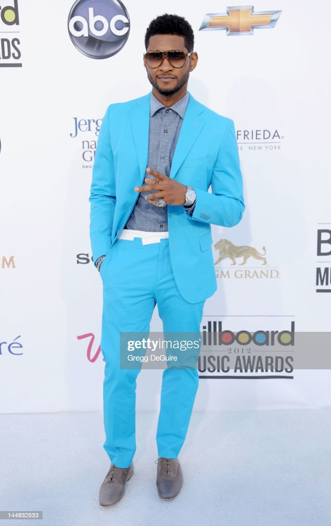 Singer Usher arrives at the 2012 Billboard Music Awards at MGM Grand on May 20, 2012 in Las Vegas, Nevada.