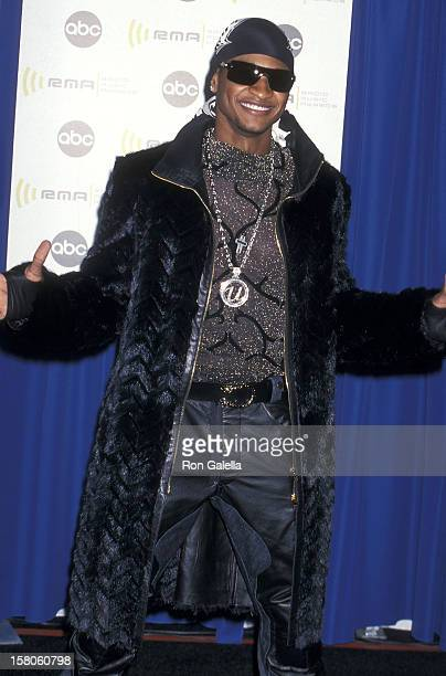 Singer Usher attends the Second Annual Radio Music Awards on November 4 2000 at the Aladdin Casino Resort in Las Vegas Nevada