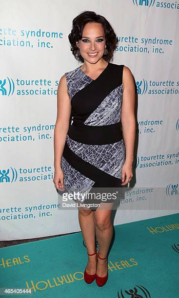 Singer Valeria Mason attends the 2nd Annual Hollywood Heals Spotlight On Tourette Syndrome at House of Blues Sunset Strip on March 5 2015 in West...