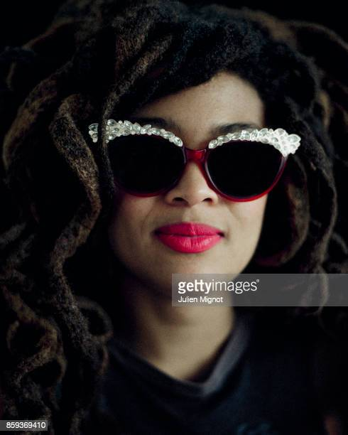 Singer Valerie June is photographed for Self Assignment on January 2017 in Paris France
