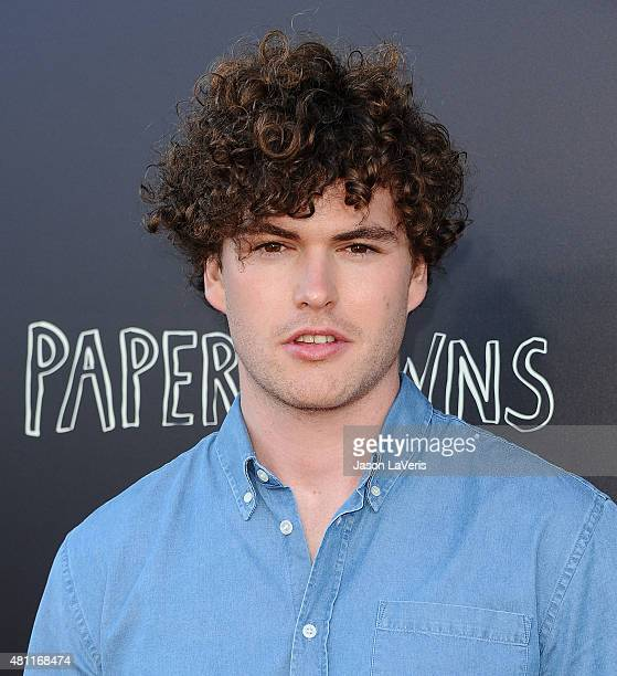 Singer Vance Joy attends the Paper Towns QA and live concert at YouTube Space LA on July 17 2015 in Los Angeles California