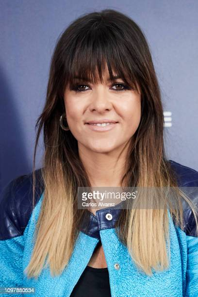 Singer Vanesa Martin attends the Cadena Dial Awards 2019 press conference on January 22 2019 in Madrid Spain