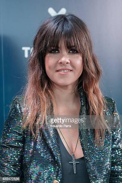 Singer Vanesa Martin attends the 'Cadena Dial' awards press conference at Prisa Radio studios on January 23 2017 in Madrid Spain