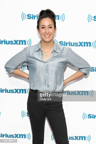 Singer Vanessa Carlton visits the SiriusXM Studios on July 26 2019 in New York City