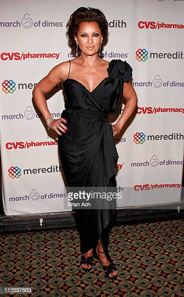 Singer Vanessa Williams attends the 36th annual March of Dimes Beauty Ball at Cipriani 42nd Street on April 11 2011 in New York City