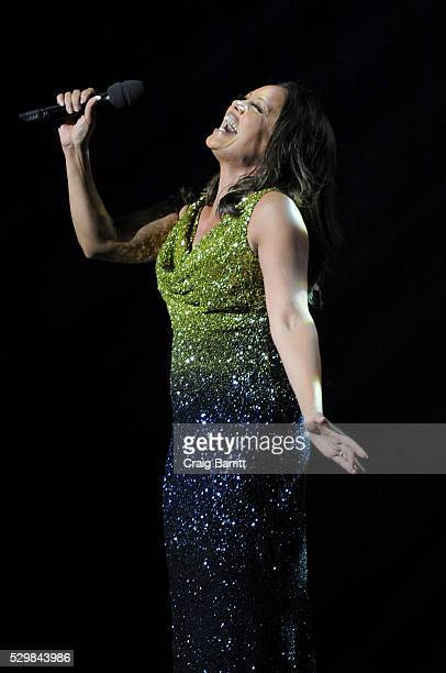 Singer Vanessa Williams performs on stage at the Jazz at Lincoln Center 2016 Gala Jazz and Broadway honoring Diana and Joe Dimenna and Ahmad Jamal at...