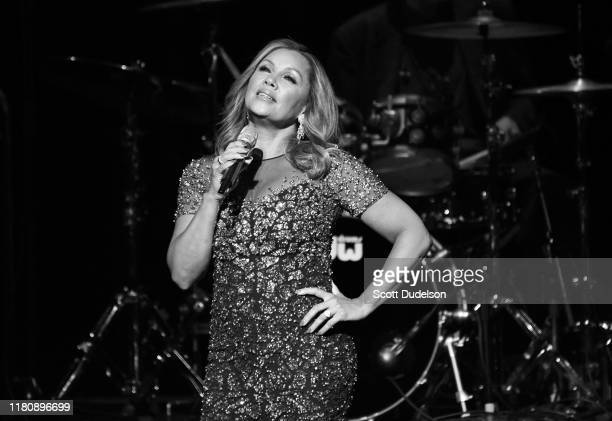 Singer Vanessa Williams performs onstage at Thousand Oaks Civic Arts Plaza on October 11 2019 in Thousand Oaks California