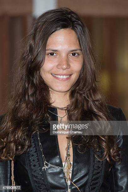 Singer Vanille Clerc attends day 3 of the 29th Cabourg Film Festival on June 12 2015 in Cabourg France