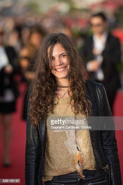 Singer Vanille Clerc attends the closing Ceremony of the 29th Cabourg Romantic Film Festival on June 13 2015 in Cabourg France