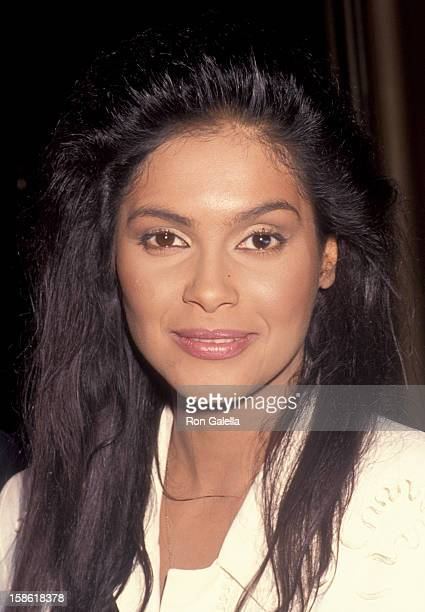 Singer Vanity attends NBC TV Summer Press Tour on July 9 1992 at the Century Plaza Hotel in Century City California