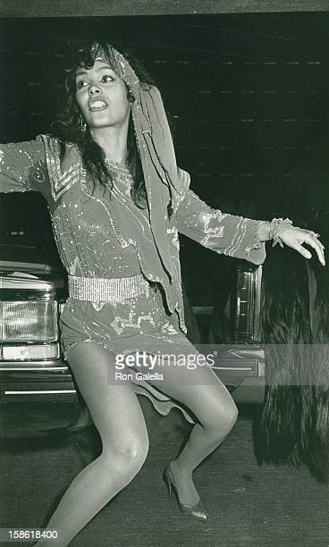 Singer Vanity attends the premiere of 'The Last Dragon' on March 21 1985 at the Plitt Theater in Century City California