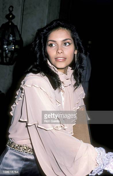 Singer Vanity attends the press conference for Hands Across America on January 16 1986 at Le Bel Age Hotel in Los Angeles California