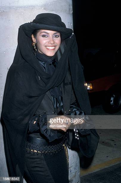 Singer Vanity sighted on November 7 1986 at Tramp's Club in Beverly Hills California
