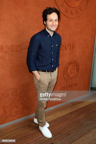 Singer Vianney attends the 2018 French Open Day Eight at Roland Garros on June 3 2018 in Paris France