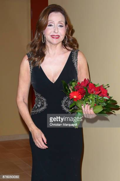 Singer Vicky Leandros attends the Take Off Award 2017 at the Holiday Inn Berlin Airport Conference Centre on November 18 2017 in Berlin Germany The...