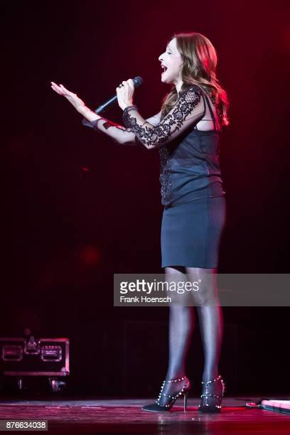 Singer Vicky Leandros performs live during the show 'Die Schlagernacht des Jahres' at the MercedesBenz Arena on November 18 2017 in Berlin Germany