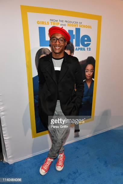 Singer Victor Jackson attends Little Atlanta red carpet screening at Regal Atlantic Station on April 04 2019 in Atlanta Georgia