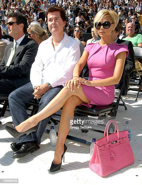 Singer Victoria Beckham at the 'David Beckham Official Presentation' press conference at the Home Depot Center on July 12 2007 in Carson California