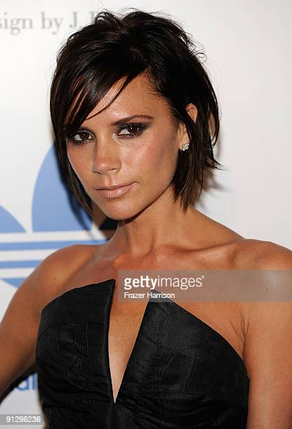 Singer Victoria Beckham attends the adidas Originals By Originals David Beckham By James Bond Collection Launch on September 30 2009 in Los Angeles...