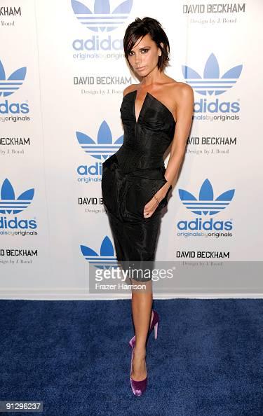 Típicamente Frontera Anticuado  Singer Victoria Beckham attends the adidas Originals By Originals... News  Photo - Getty Images
