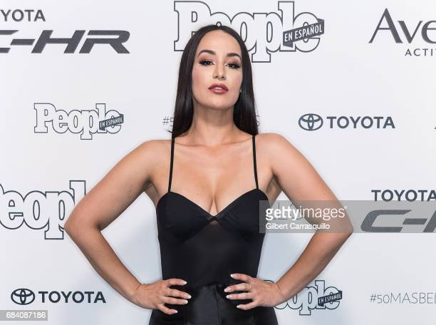 Singer Victoria La Mala arrives at People en Espanol's 50 Most Beautiful Gala 2017 at Espace on May 16 2017 in New York City