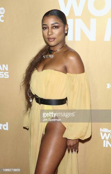 Singer Victoria Monet attends the Billboard's 13th Annual Women in Music event at Pier 36 on December 6 2018 in New York City