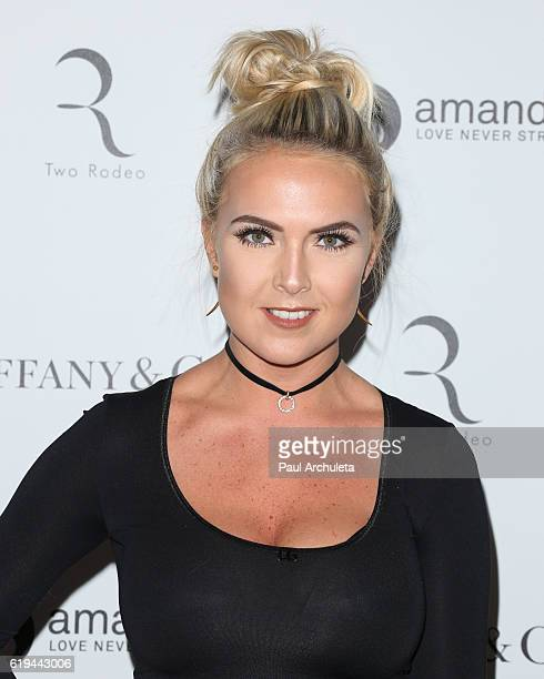 Singer Victoriah Bech attends Amanda Foundation's annual Rodeo Drive fundraiser at Via Rodeo at Two Rodeo Drive on October 30 2016 in Beverly Hills...