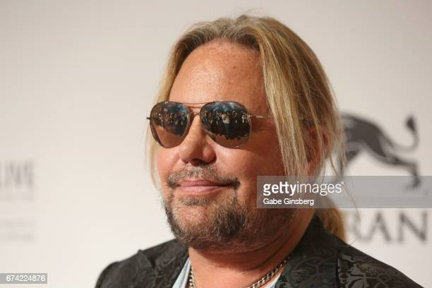 "Singer Vince Neil of Motley Crue attends Keep Memory Alive's 21st annual ""Power of Love Gala"" benefit for the Cleveland Clinic Lou Ruvo Center for..."