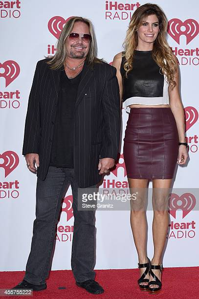 Singer Vince Neil of Motley Crue attends night 1 of the 2014 iHeartRadio Music Festival at MGM Grand Garden Arena on September 19 2014 in Las Vegas...