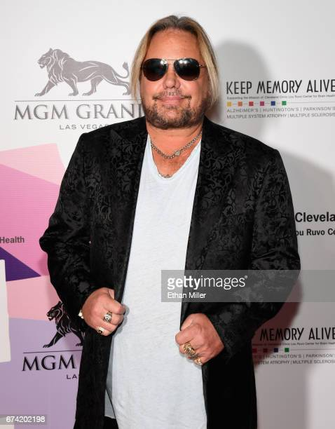 Singer Vince Neil of Motley Crue attends the 21st annual Keep Memory Alive Power of Love Gala benefit for the Cleveland Clinic Lou Ruvo Center for...