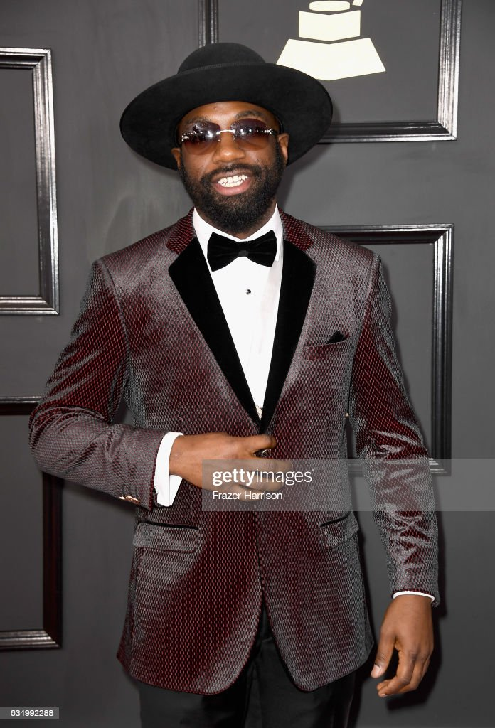 Singer Vincent Berry II attends The 59th GRAMMY Awards at STAPLES Center on February 12, 2017 in Los Angeles, California.