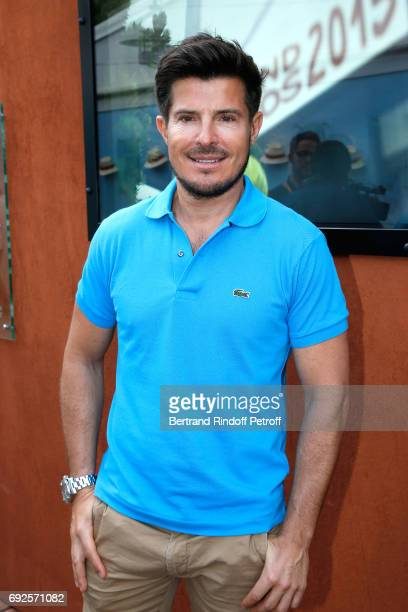 Singer Vincent Niclo attends the 2017 French Tennis Open Day Height at Roland Garros on June 4 2017 in Paris France