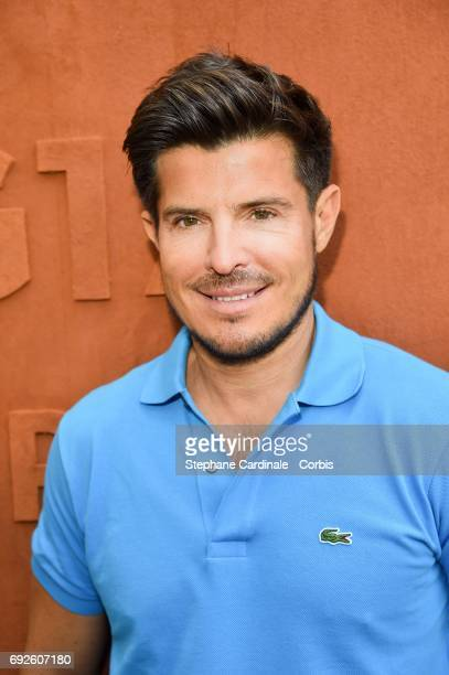 Singer Vincent Niclo attends the 2017 French Tennis Open Day Nine at Roland Garros on June 5 2017 in Paris France