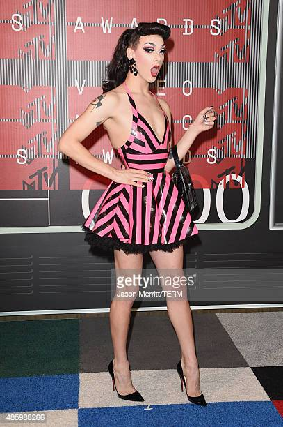Singer Violet Chachki attends the 2015 MTV Video Music Awards at Microsoft Theater on August 30 2015 in Los Angeles California