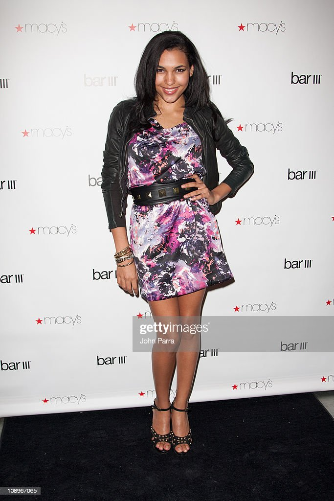 Singer Vita Chambers attends the launch party for Macy's Bar III Pop-Up Shop at 156 Fifth Ave on February 9, 2011 in New York City.